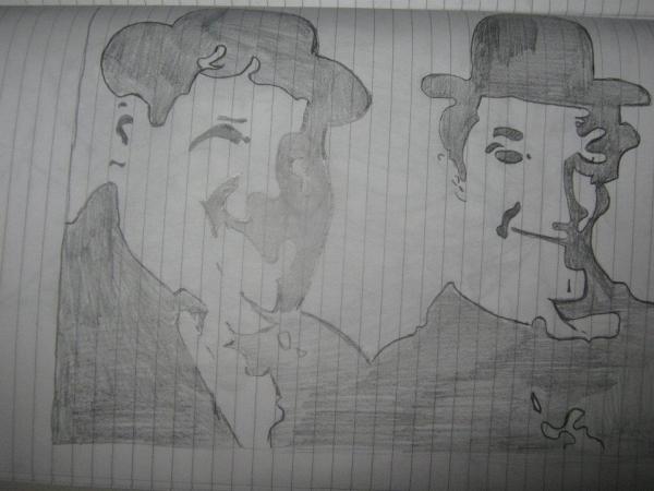 Laurel & Hardy por IgorIgy87